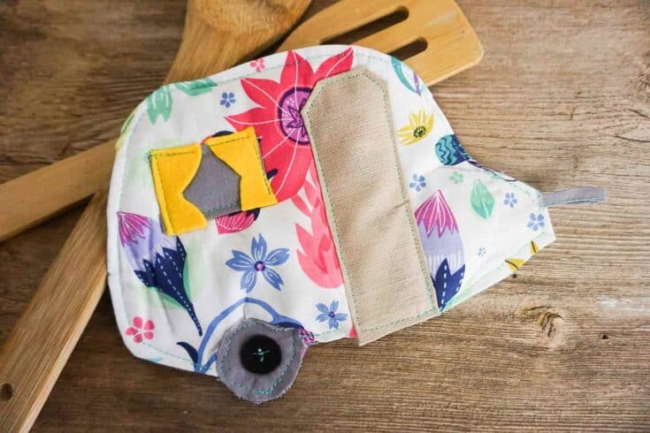 How To Make A Camper Potholder Create card