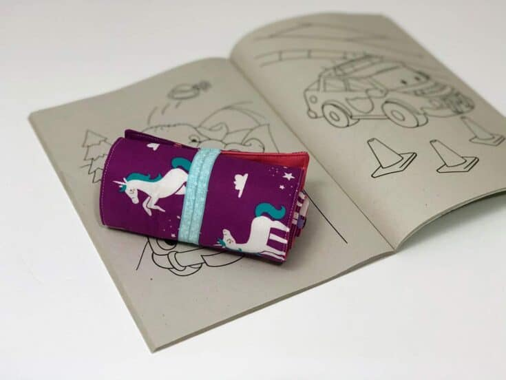 How To Make A Crayon Roll-Up Create Card
