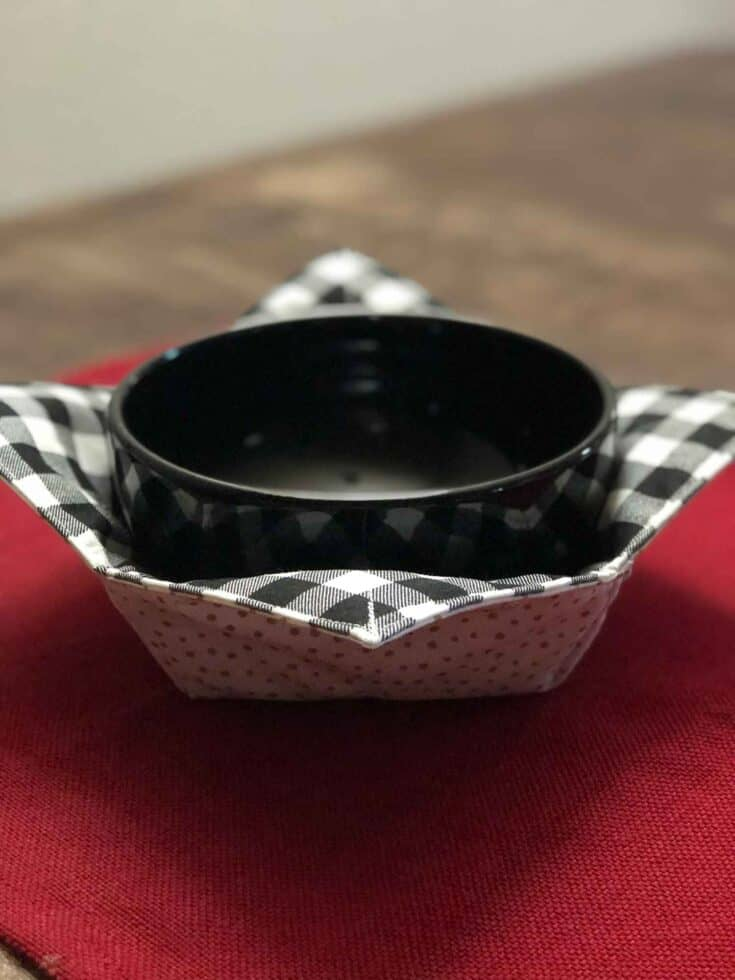 How To Make A Microwave Bowl Cozy Create Card