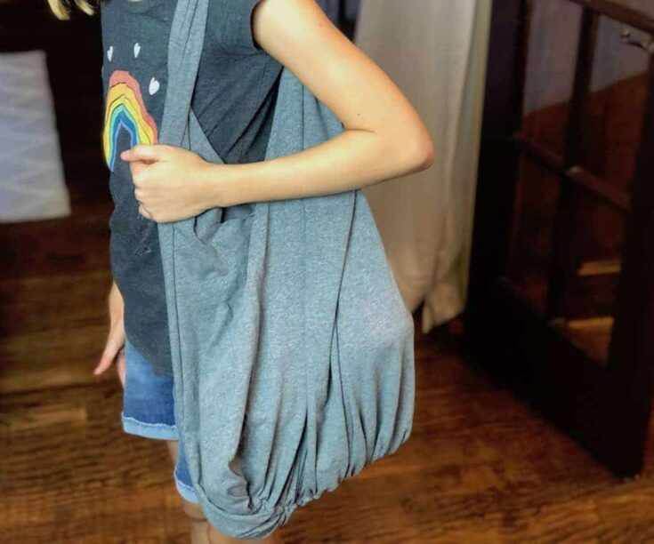 How To Make A No-Sew T-Shirt Bag Create Card