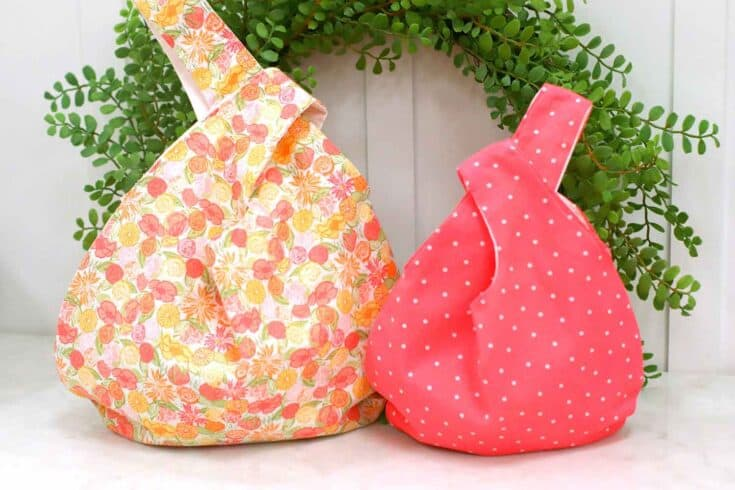 How To Sew A Japanese Knot Bag Create Card