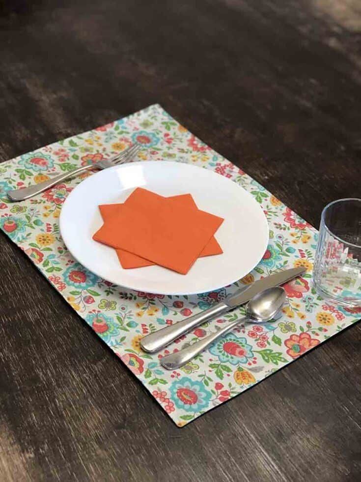DIY Reversible Placemats