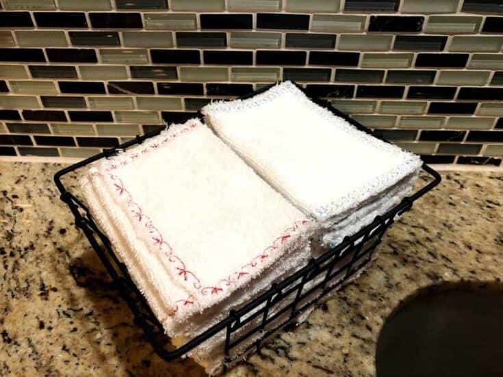 Zero Waste Unpaper Towels Create Card