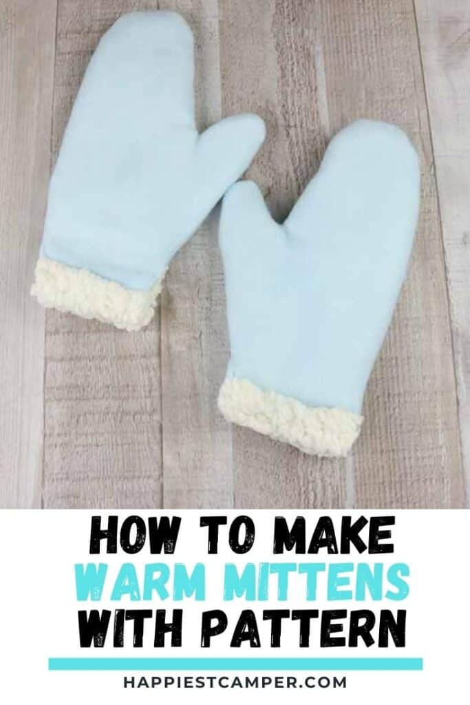 How To Make Warm Mittens With Pattern