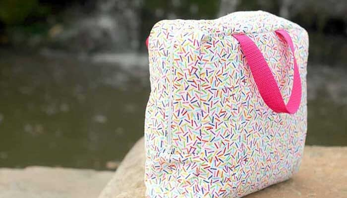 How To Sew An Insulated Lunch Box