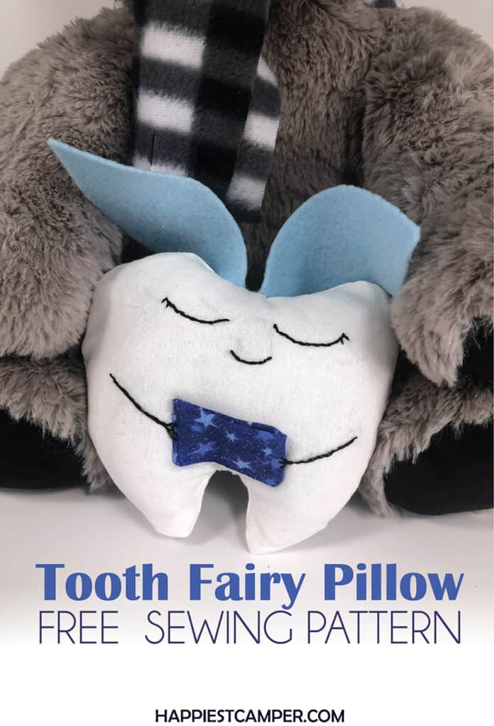 DIY Tooth Fairy Pillow Sewing Tutorial with Free Sewing Pattern