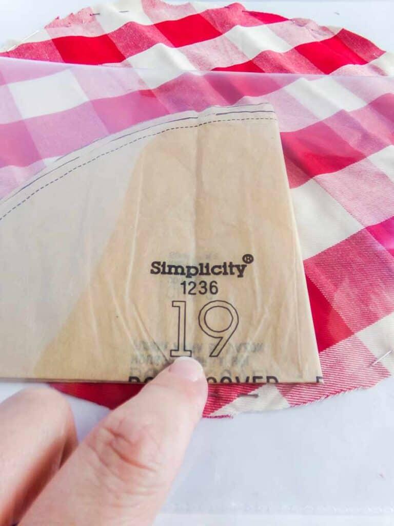 folding sewing pattern