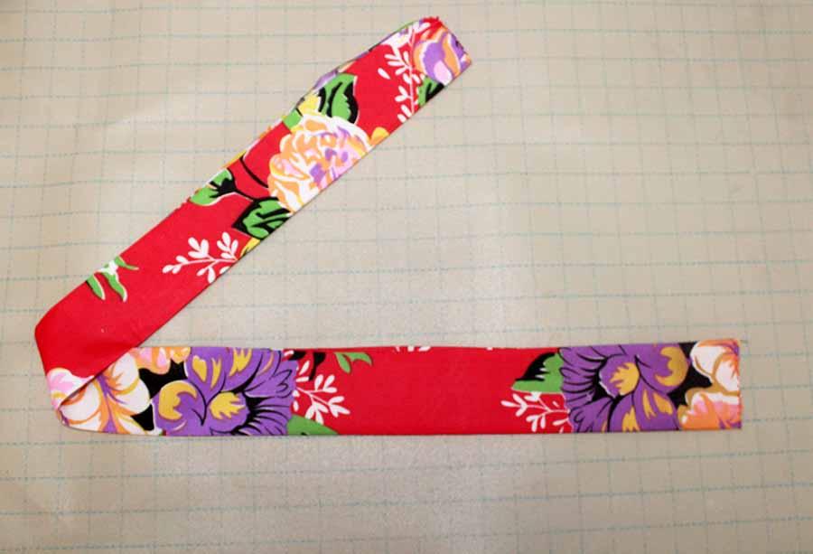 folding fabric for waistband