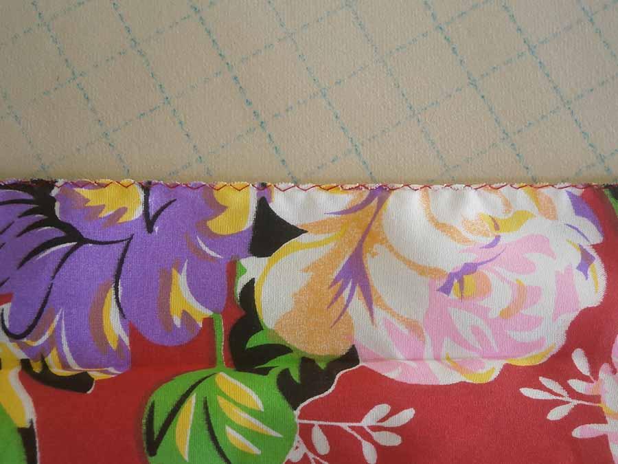 finishing raw edges