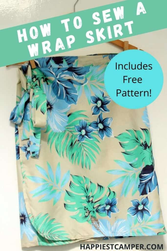 How To Make A Wrap Skirt With Free Pattern