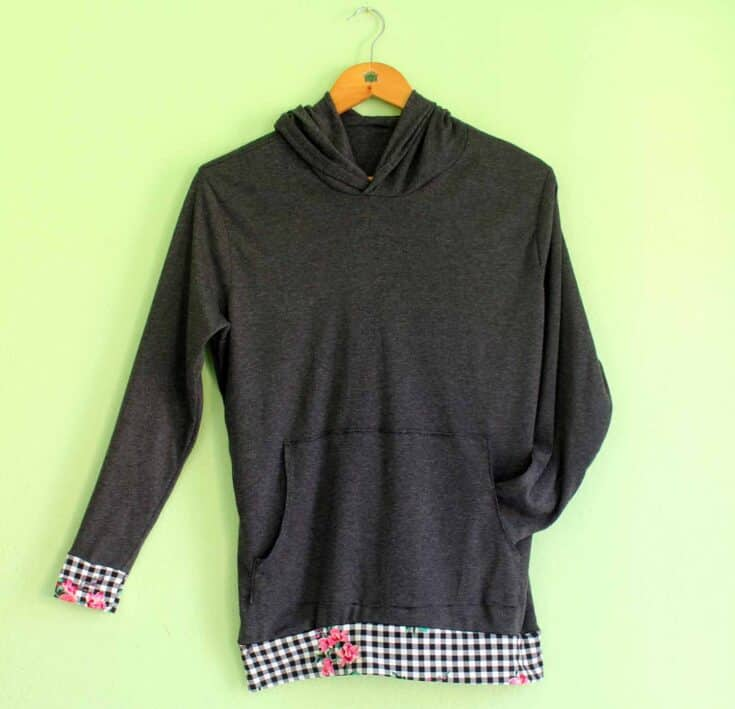 How To Sew A Hoodie With Free Pattern