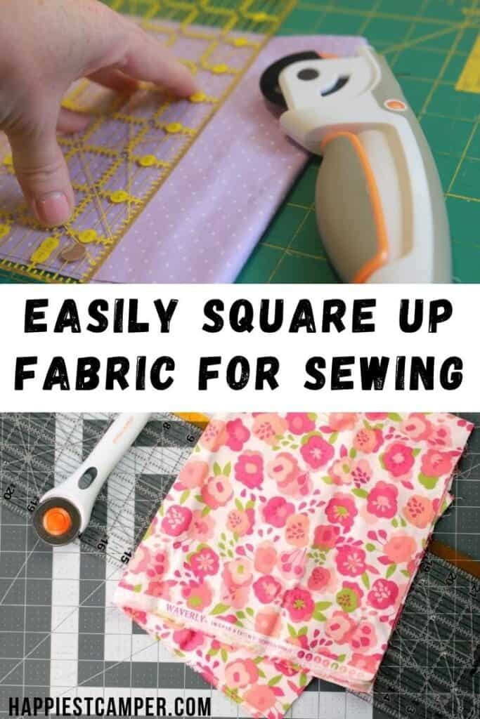 How To Square Up Fabric For Sewing Projects