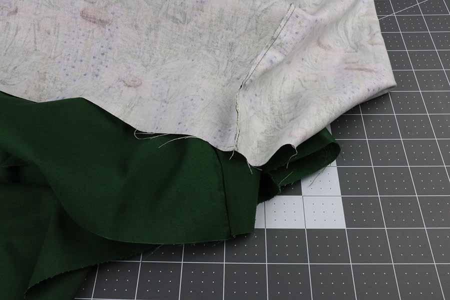 trim seams off KitchenAid stand mixer cover