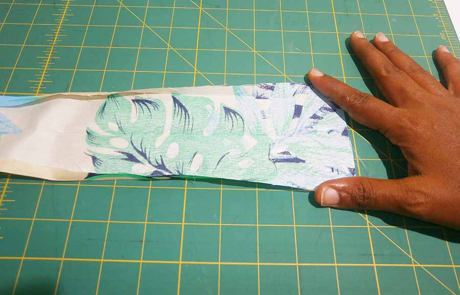 sewing waistband end