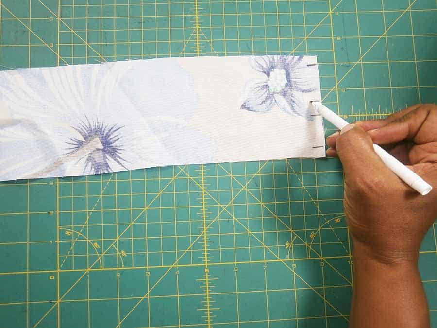 wrap skirt waistband pattern