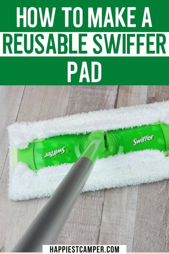 How To Make a Reusable Swiffer Pad