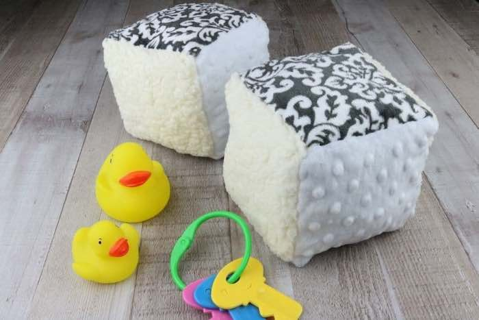 fabric baby blocs and toy