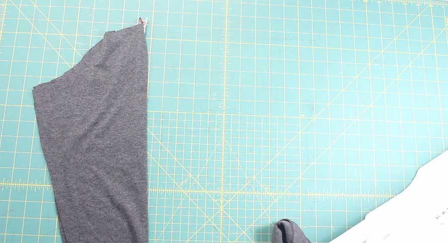 folding sleeve for hoodie