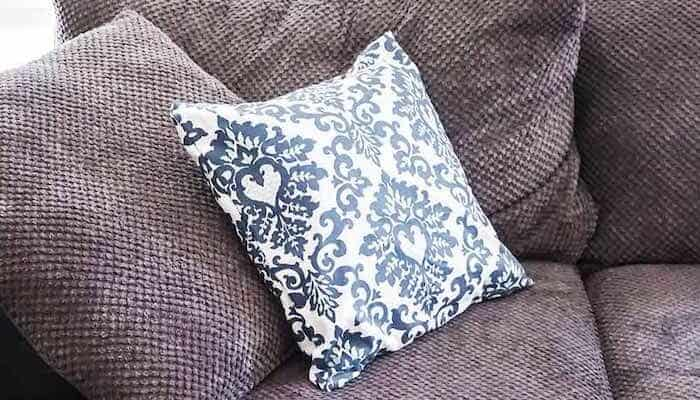 How to Make a No-Sew Pillow Cover in Minutes!