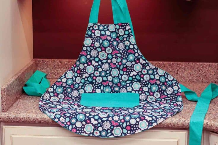 How To Sew An Apron With Free Printable Apron Pattern Create card