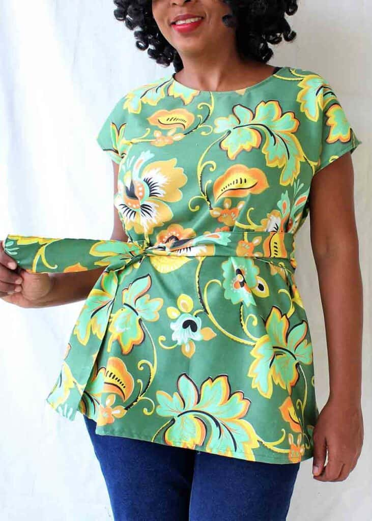 Finished Tunic top