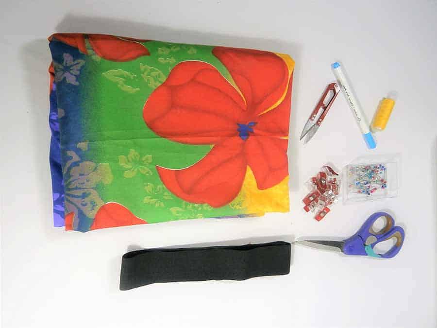 supplies to sew a circle skirt