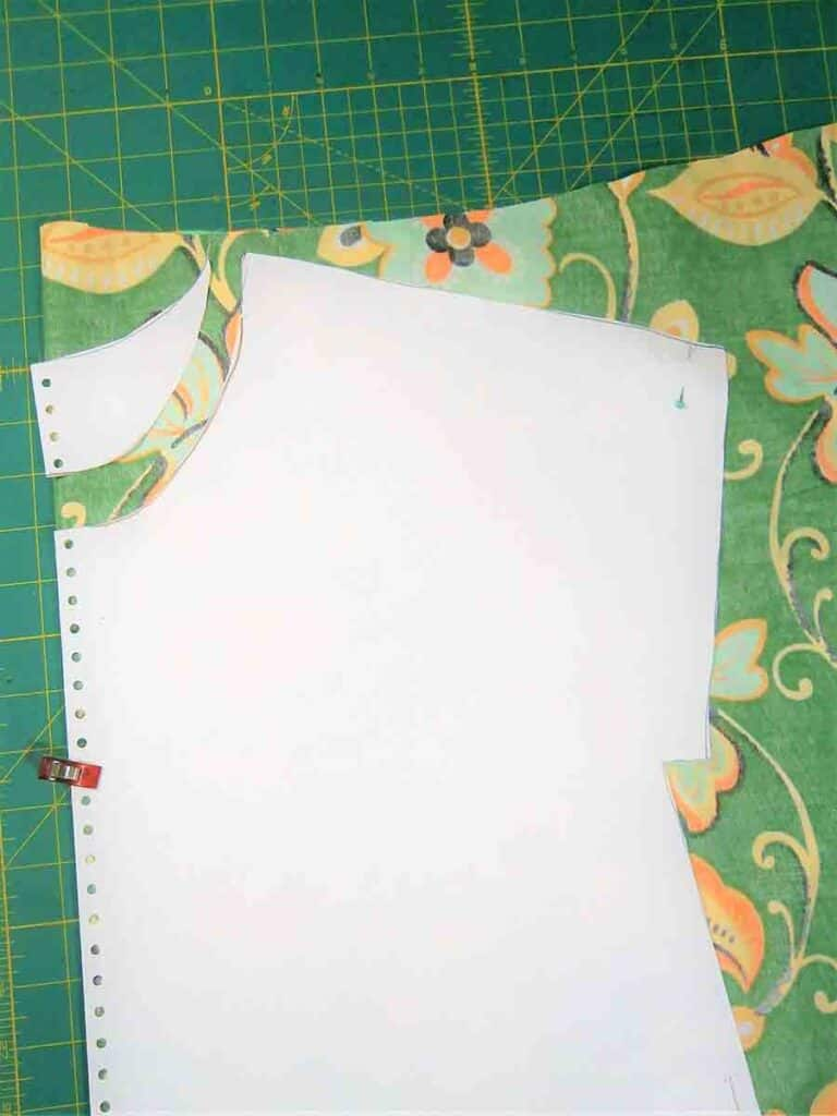 using tunic top sewing pattern