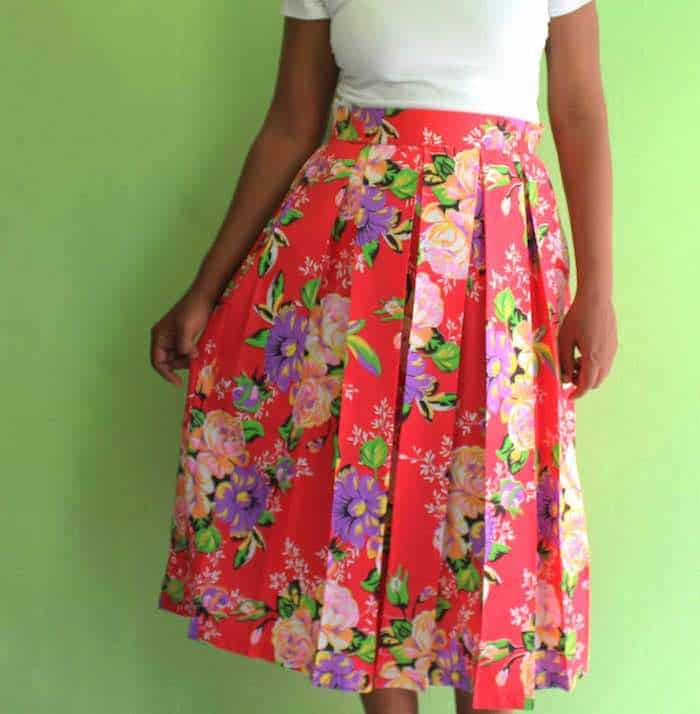 Pleated Skirt Featured Image