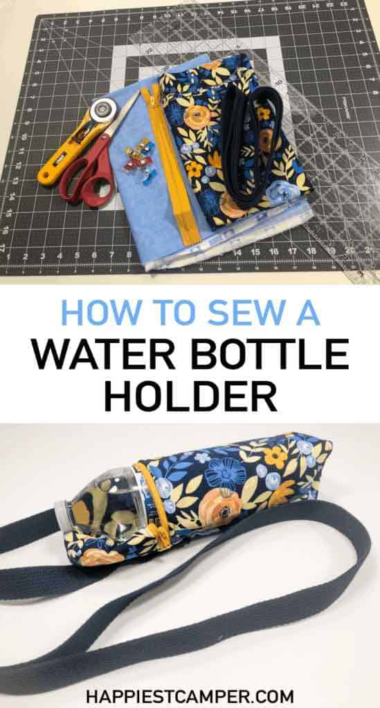 How To Sew A Water Bottle Holder