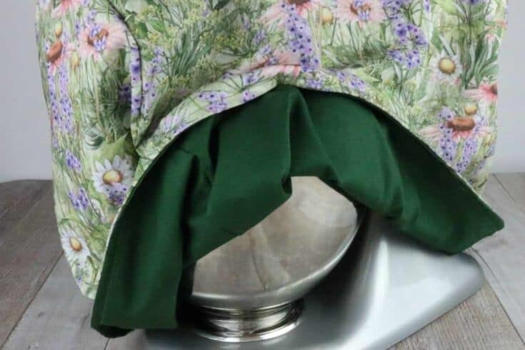 How to Sew a KitchenAid Stand Mixer Cover with Free Sewing Pattern