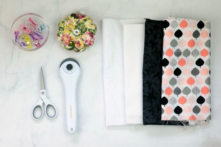 supplies needed to make Envelope Clutch Purse