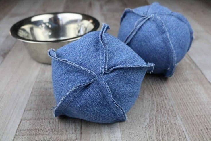 DIY Dog Chew Toys - Jean Dog Ball Create Card