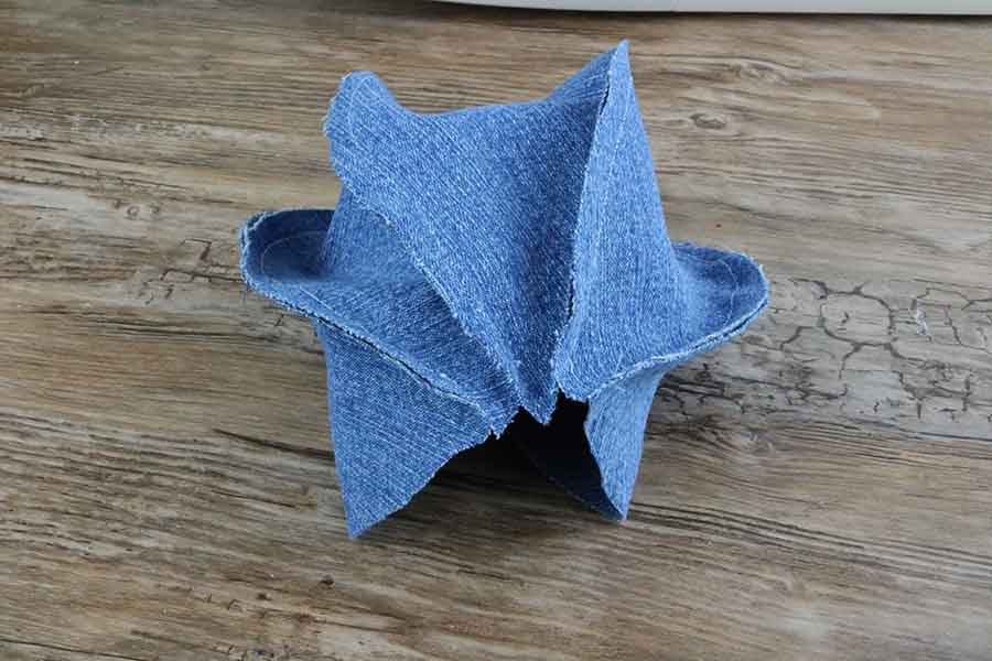 sewing DIY Dog Chew Toys - Jean Dog Ball