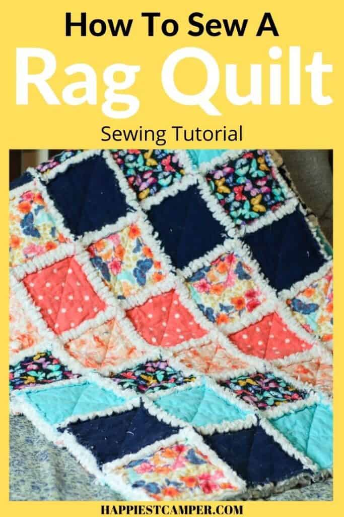 How To Sew A Rag Quilt