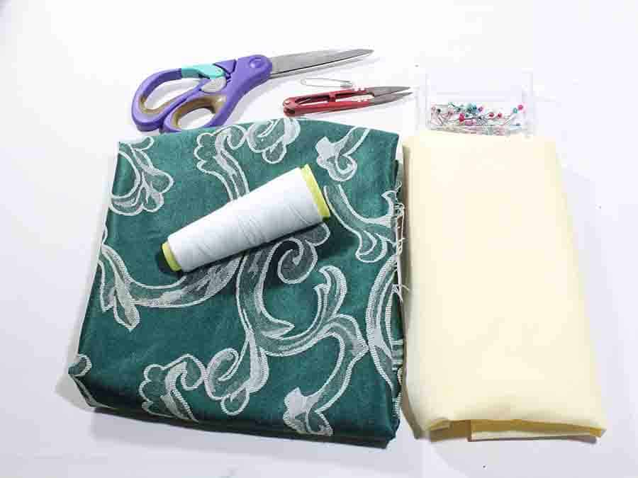 Slouchy tote bag supplies