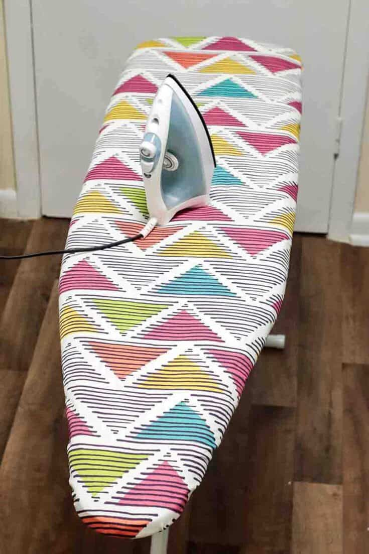 Ironing Board Cover Create Card