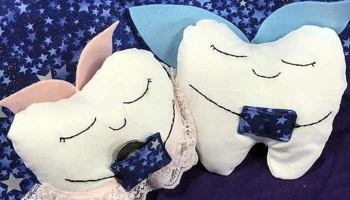 DIY Tooth Fairy Pillow Tutorial with Free Sewing Pattern