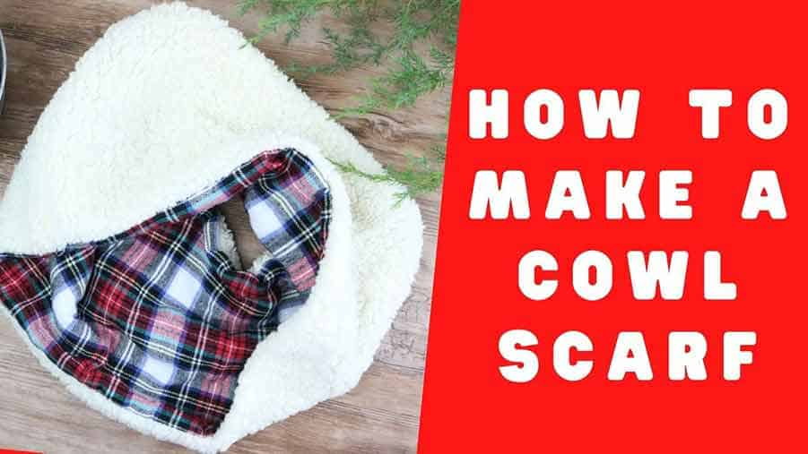 cowl scarf Youtube Sewing project