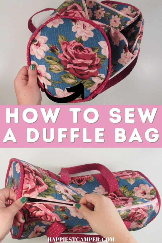 How To Sew A Duffle Bag