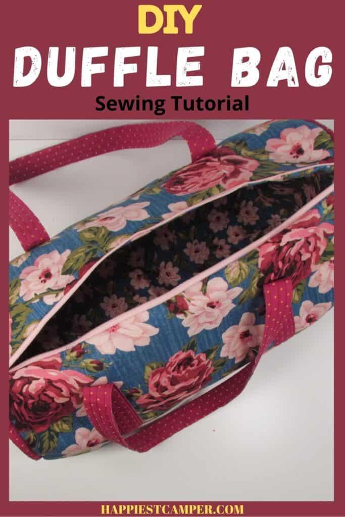 DIY Duffle Bag Tutorial