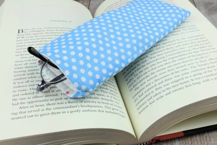 Fabric Glasses Case Create card