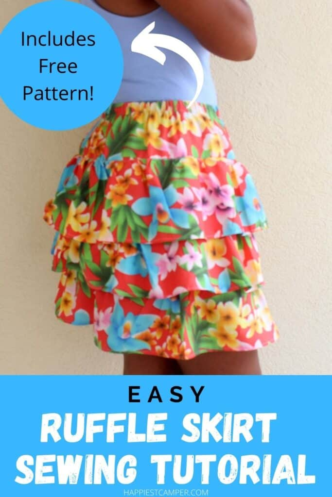 Easy Ruffle Skirt Sewing Tutorial