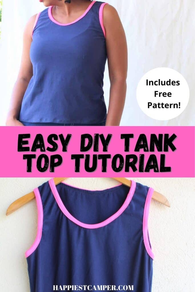 Easy DIY Tank Top Tutorial