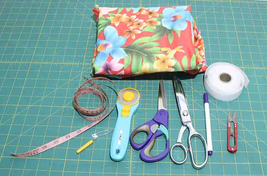Ruffle Skirt Sewing Supplies