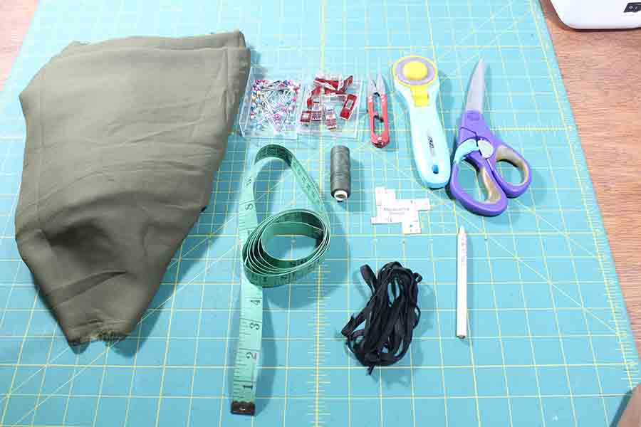 Supplies For Sewing Peasant Blouse
