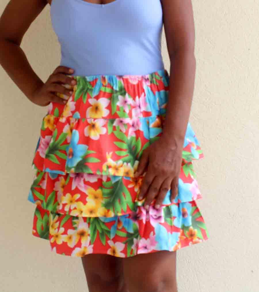 final ruffle skirt