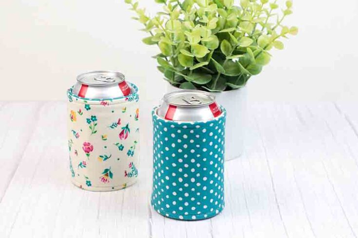 How to Make a Fabric Beverage Holder