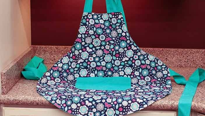 How To Sew An Apron With Free Printable Apron Pattern