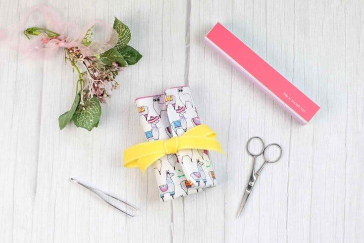 Manicure Kit Create Card