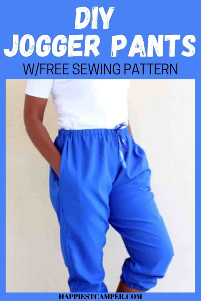DIY Jogger Pants With Free Sewing Pattern